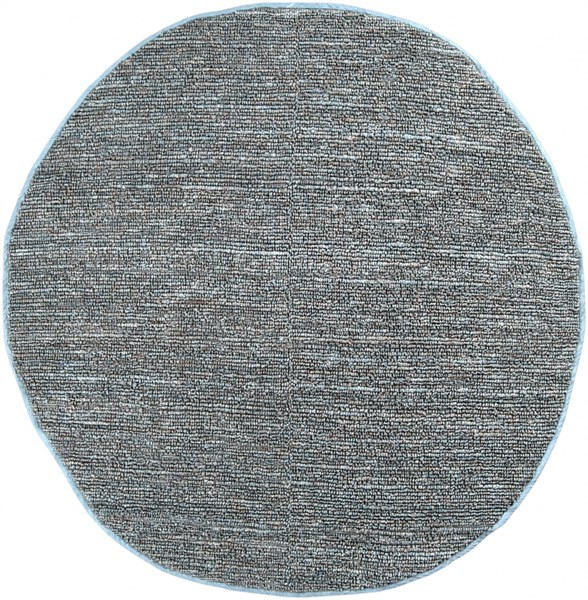 Continental Slate Jute Round Area Rug - 96 x 96 COT1941-8RD
