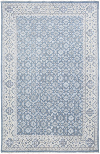 Cappadocia Slate Navy Sea Foam Wool Area Rug - 66 x 102 CPP5001-5686