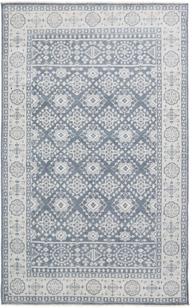 Surya Cappadocia Charcoal Tan Gray Wool Area Rug - 102x66 CPP5010-5686