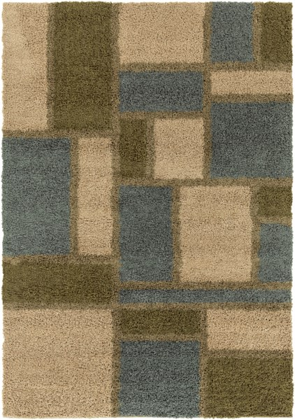 Concepts Modern Lime Olive Moss Olefin Area Rug (L 90 X W 63) CPT1736-5376