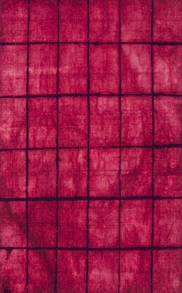 Cruise Hot Pink Eggplant Wool Area Rug (L 96 X W 60) CRS7002-58