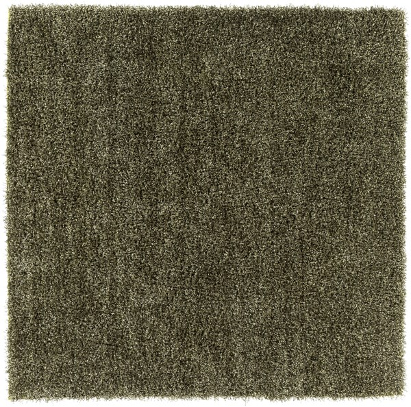 Croix Lime Black Polyester Square Area Rug (L 96 X W 96) CRX2998-8SQ