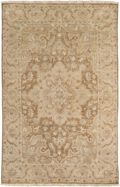Cheshire Mocha Gold Moss New Zealand Wool Area Rug - 66 x 102 CSH6002-5686