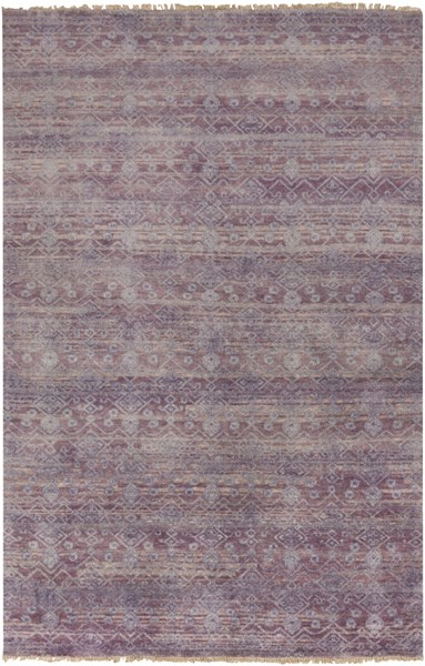 Cheshire Mauve Gray Iris New Zealand Wool Area Rug - 66 x 102 CSH6008-5686