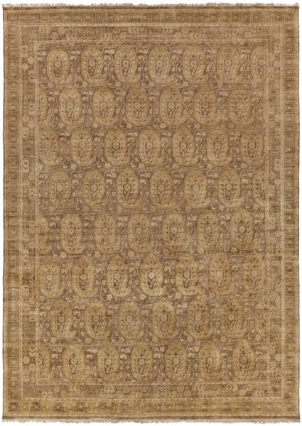 Cheshire Beige Olive New Zealand Wool Area Rug (L 138 X W 102) CSH6009-86116