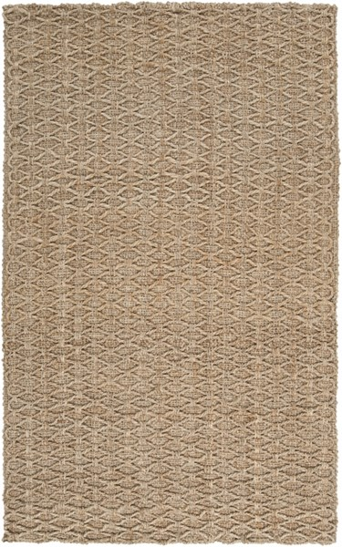Country Jutes Gold Jute Area Rug (L 96 X W 60) CTJ2028-58