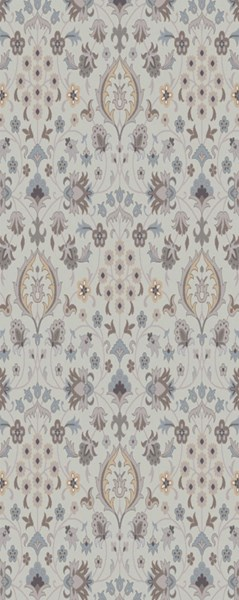 Castille Traditional Moss Gray Teal Fabric Area Rugs 14887-VAR1
