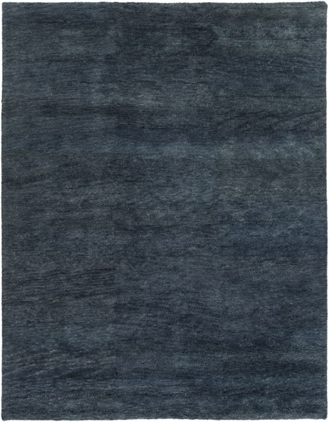 Cotswald Teal Cotton Wool Area Rug (L 132 X W 96) CTS5001-811