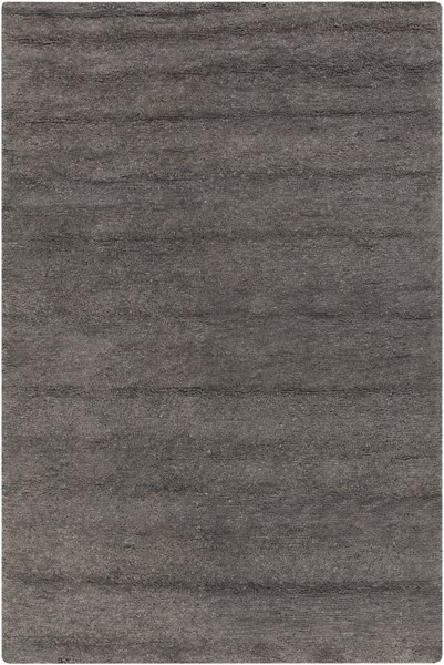 Cotswald Charcoal Cotton Wool Area Rug (L 96 X W 60) CTS5002-58