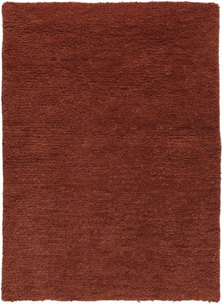 Cotswald Burgundy Cotton Wool Area Rug (L 36 X W 24) CTS5007-23