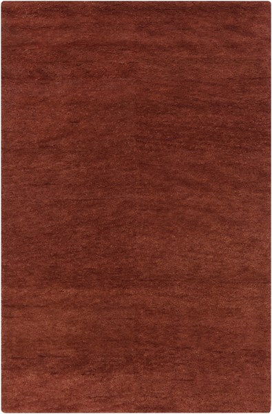 Cotswald Burgundy Cotton Wool Area Rug (L 96 X W 60) CTS5007-58