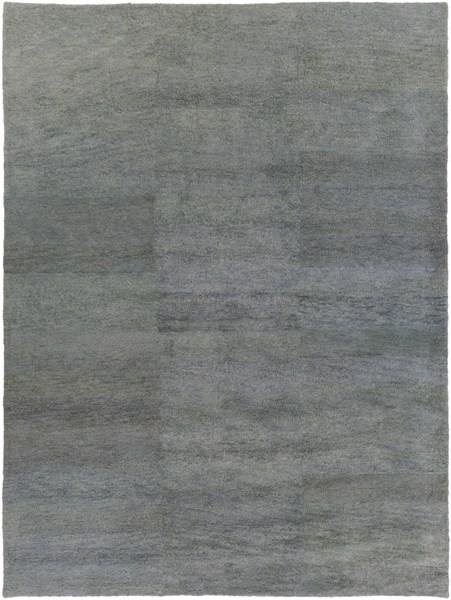Cotswald Moss Cotton Wool Area Rug (L 132 X W 96) CTS5009-811
