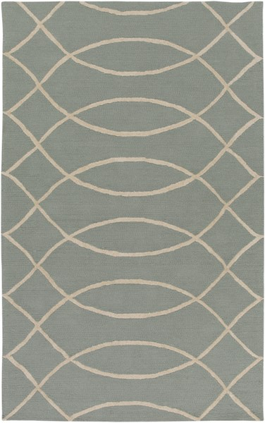 Courtyard Light Gray Polypropylene Area Rug (L 90 X W 60) CTY4013-576