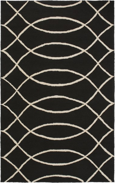 Courtyard Charcoal Polypropylene Geometric Area Rug (l 90 X W 60) CTY4038-576