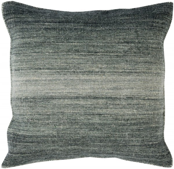 Chaz Pillow with Down Fill in Moss - 22 x 22 x 5 CZ003-2222D