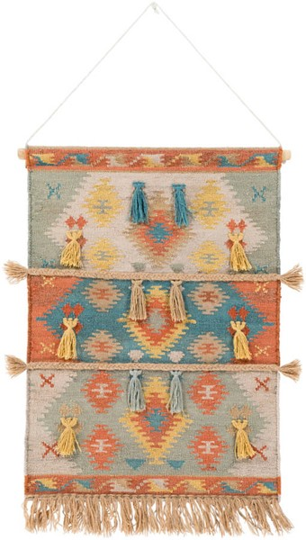 Surya Adia Beige Wool Wall Hangings - 24x36 DIA1004-2436