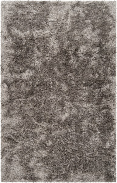 Dunes Modern Light Gray Polyester Area Rug (L 96 X W 60) DNE3501-58
