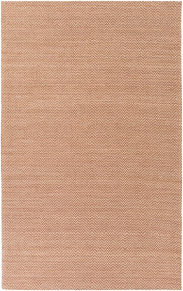 Drift Wood Contemporary Rust Bamboo Silk Cotton Area Rug (L 96 X W 60) DRF3005-58