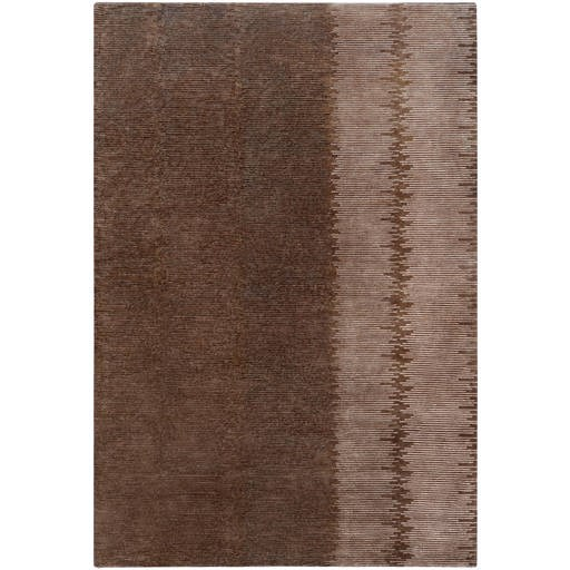 Dusk Plush Pile L 36 X W 24 Rectangle Wool Rug DSK-6701 DSK6701-23
