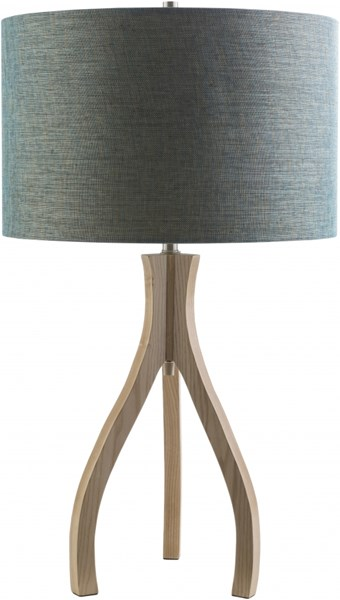 Duxbury Contemporary Wood Polyester Table Lamp (W 15.75 X H 28.74) DXB772-TBL