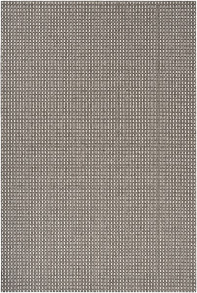 Elements Charcoal Light Gray Olefin Area Rug - 63 x 90 ELT1005-5376