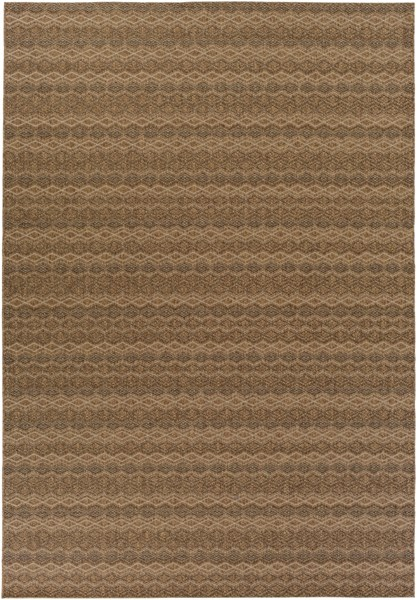 Elements Contemporary Beige Olefin Area Rug (L 133 X W 94) ELT1011-710111
