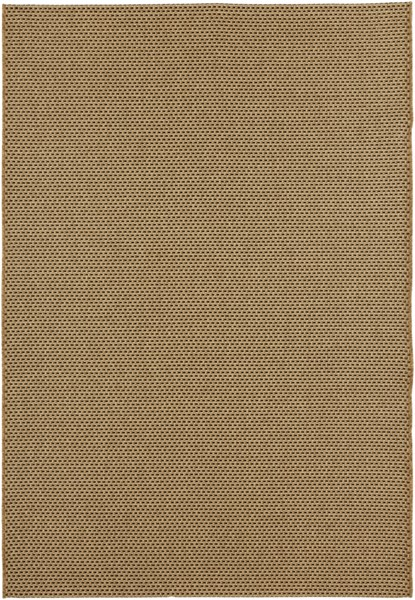 Elements Contemporary Beige Gold Olefin Area Rug (L 90 X W 63) ELT1014-5376