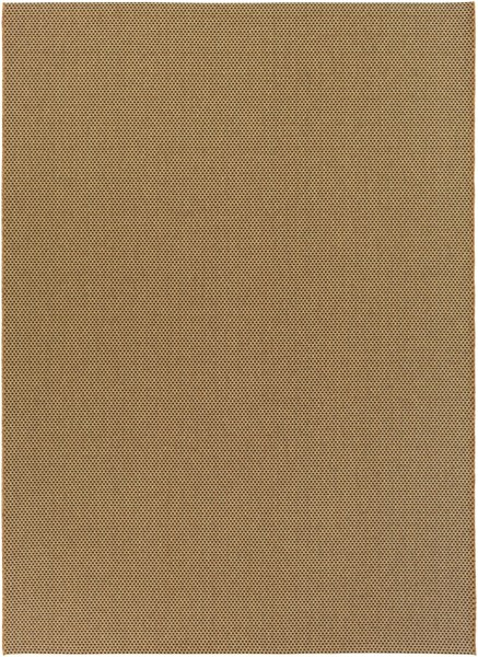 Elements Contemporary Beige Gold Olefin Area Rug (L 133 X W 94) ELT1014-710111