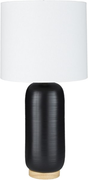 Surya Everly Black Ceramic Table Lamp - 13x25.50 ERL-002