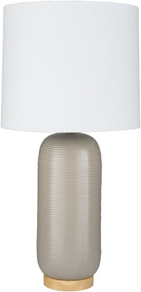 Surya Everly Taupe Ceramic Table Lamp - 13x25.50 ERL-003