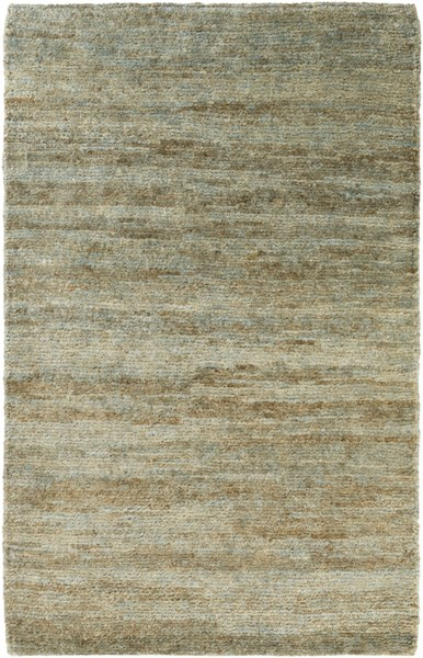 Surya Essential Dark Green Sage Light Gray Jute Area Rug - 36x24 ESL1003-23
