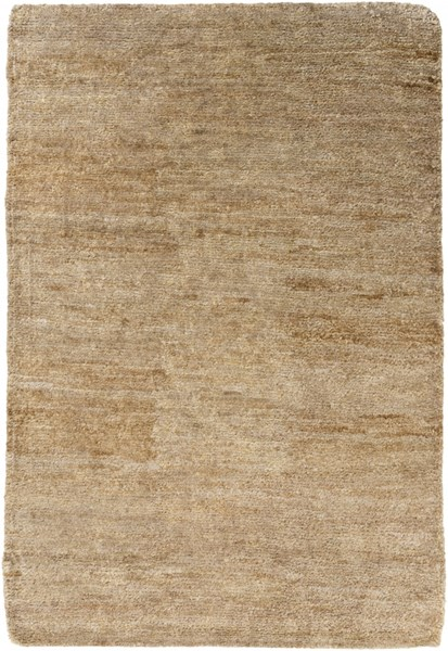 Essential Charcoal Taupe Light Gray Jute Area Rug (L 90 X W 60) ESL1005-576