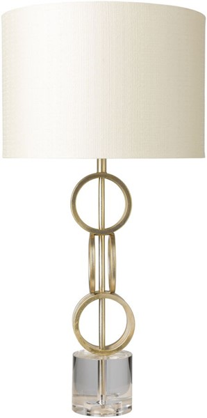 Surya Evans Beige Metal Table Lamp - 16x31 EVN-100