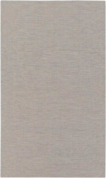 Surya Everett Taupe Light Gray White Acrylic Area Rug - 90x60 EVR1006-576