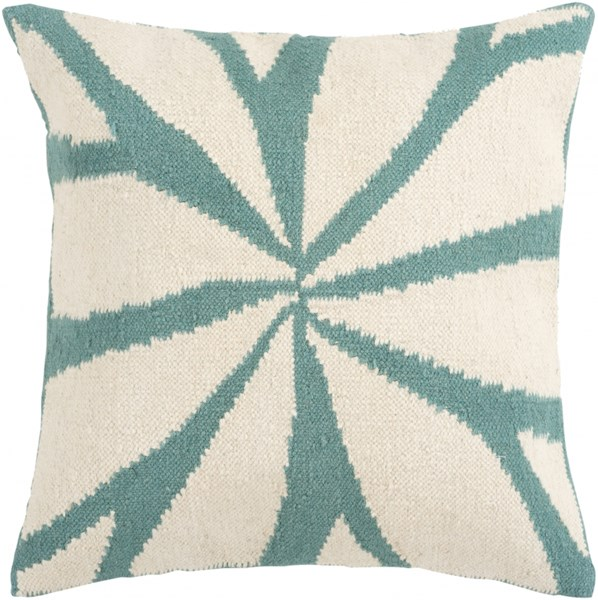 Fallow Beige Moss Down Wool Cotton Throw Pillow - 18x18x4 FA003-1818D