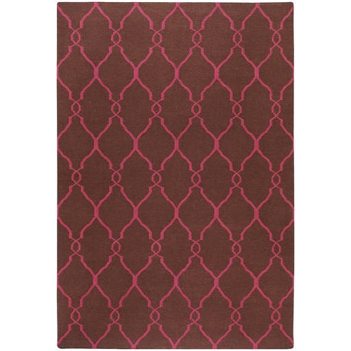 Fallon Flat Pile L 156 X W 108 Rectangle Wool Rug FAL-1012 FAL1012-913