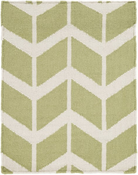 Fallon Contemporary Lime Beige Fabric Area Rug FAL1052-23