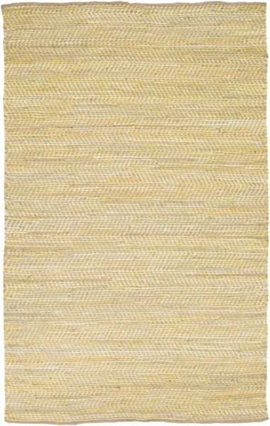 Fanore Sunflower Olive Cotton Jute Area Rug - 60 x 96 FAN3007-58
