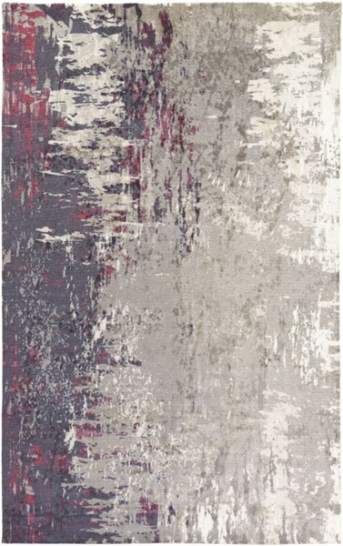 Felicity Navy Gray Hot Pink Polyester Area Rug - 60 x 90 FCT8004-576