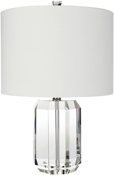Surya Fitz White Crystal Table Lamp - 14x21.50 FIT-100