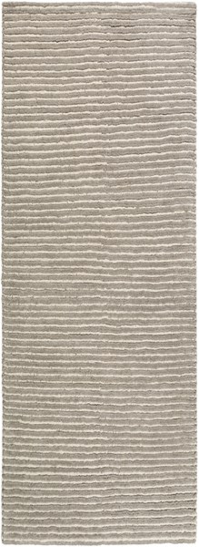 Felix Contemporary Gray Ivory Wool Area Rugs 14827-VAR1