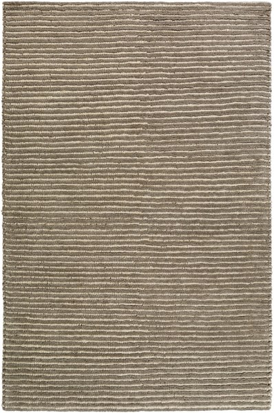 Felix Contemporary Olive Ivory Wool Area Rug (L 90 X W 60) FIX4001-576