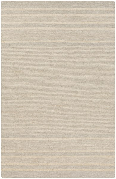 Fiji Gray Butter Wool Jute Area Rug - 60 x 96 FJI8000-58