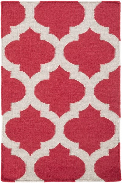Frontier Contemporary Cherry Gray Fabric Area Rug (L 36 X W 24) FT114-23