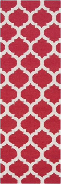 Frontier Contemporary Cherry Gray Fabric Runner (L 96 X W 30) FT114-268