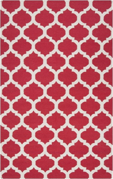 Frontier Contemporary Cherry Gray Fabric Area Rug (L 96 X W 60) FT114-58