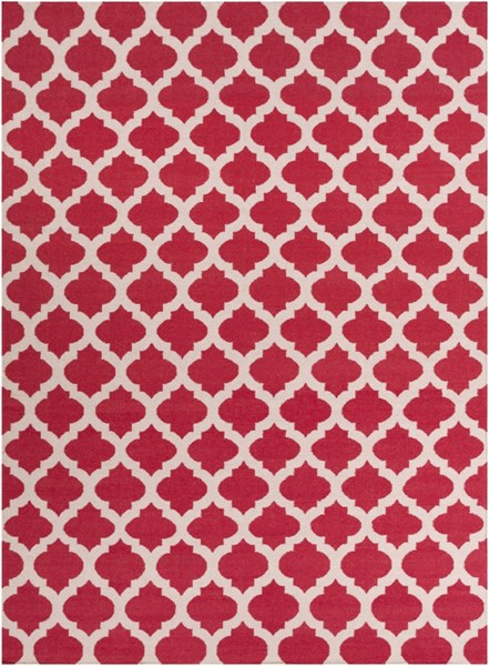 Frontier Contemporary Cherry Gray Fabric Area Rug (L 132 X W 96) FT114-811