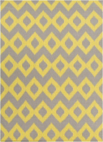 Frontier Olive Lemon Wool Area Rug - 96 x 132 FT166-811