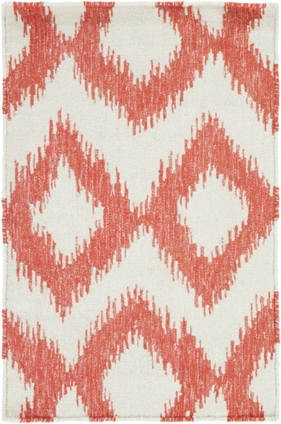 Frontier Ivory Poppy Wool Area Rug - 24 x 36 FT173-23