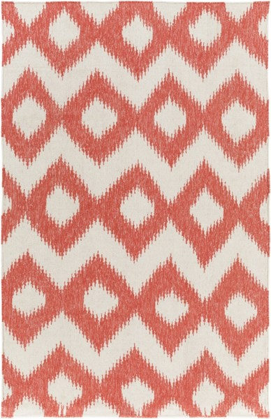 Frontier Ivory Poppy Wool Area Rug - 60 x 96 FT173-58